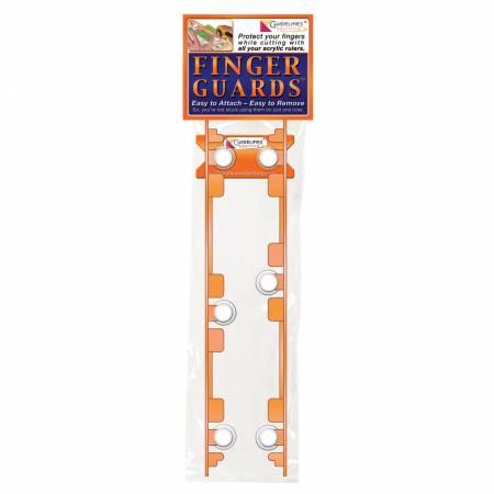 Finger Guides for Acrylic Ruler
