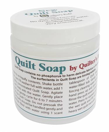 Quilt Soap New and Improved 8 oz.