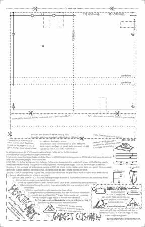 Gadget Cushion Printed Interfacing 50 Panels