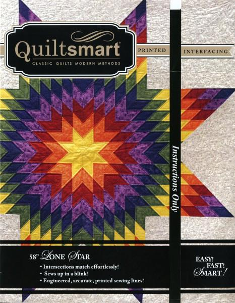 58in Lone Star QuiltSmart fusible