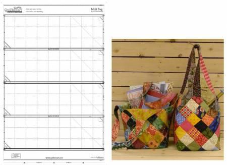 Midi Bag Pre Printed Interfacing Panel only