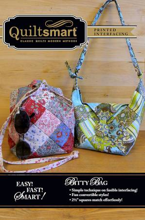 Bitty Bag Printed Interfacing Panel