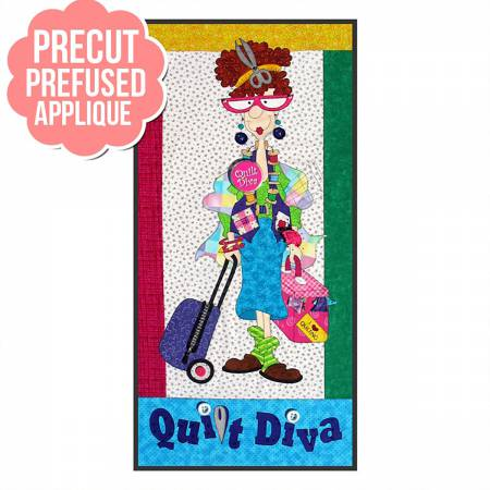 Quilt Diva Pre-cut and Pre-Fused Applique Kit