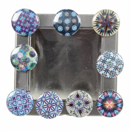 Quiltworx Confetti 9 Magnets