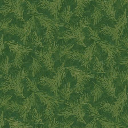 Winter Botanicals Pine Green