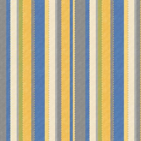 Blue Yellow Dot Stripe