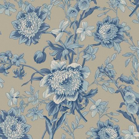 Medium Blue Flower R2202