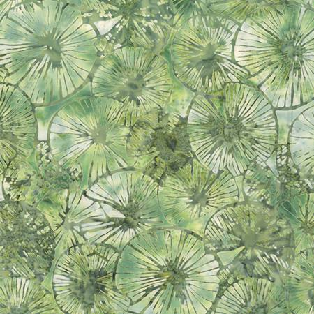 Balsam Textured Lily Pads Batik