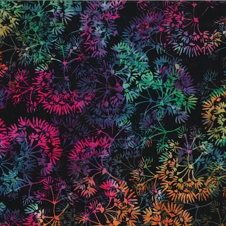 HOFF- Dandelion Julie Black Multi Bali Batiks