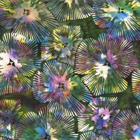 Leapfrog Abstract Floral Batik