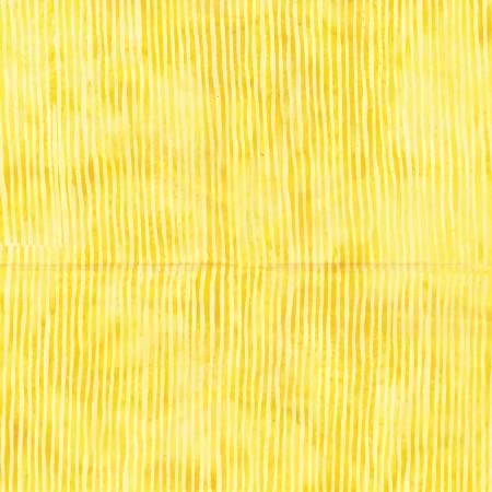 Hoffman Bali Batik Lemon Skinny Stripes