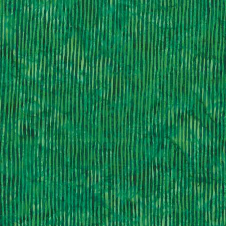Emerald Bali Batik Skinny Stripes