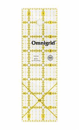 Omnigrid Ruler 2-1/2in x 8in - R258A