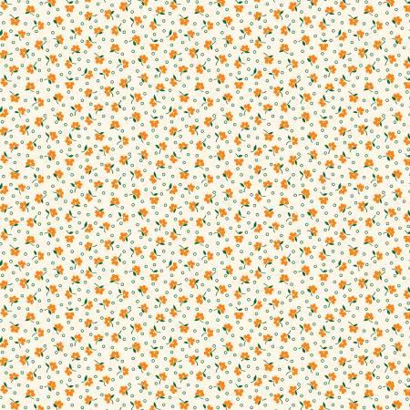 Sew Charming - Orange Wind Blown