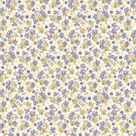 Sew Charming - Lilac Tossed Flowers