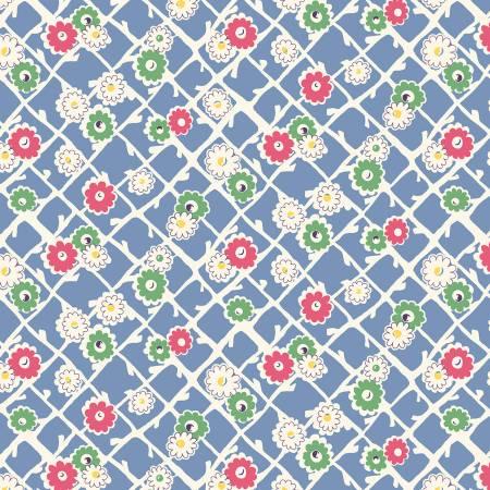 Sew Charming - Blue Garden Gate
