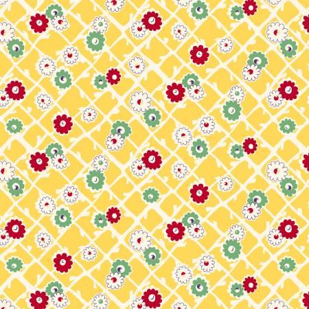 Sew Charming - Yellow Garden Gate