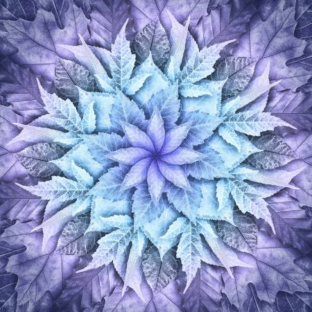 Big Leaf 4617-535 Purple Haze Digital Panel, 43in x 43in
