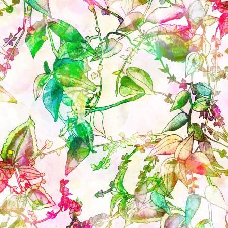 Hoffman Busy Blooms Floral - Multi