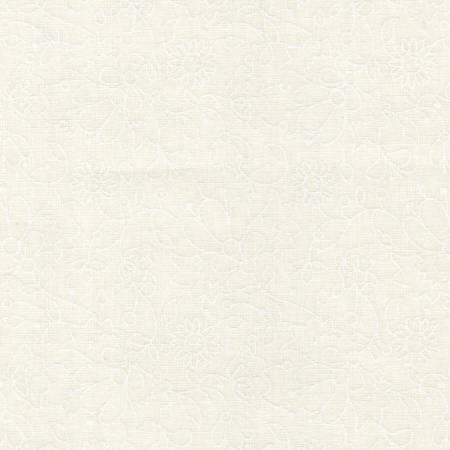 Ramblings-Floral White on White