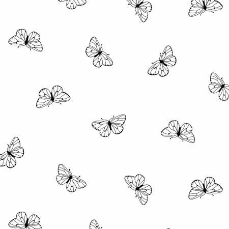 White on White Butterflies