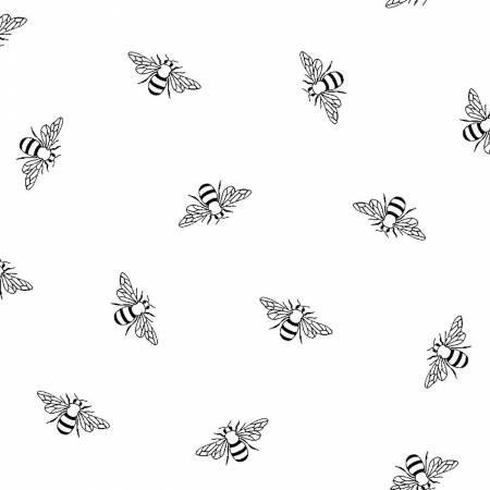 White Bees RAMS4211-W