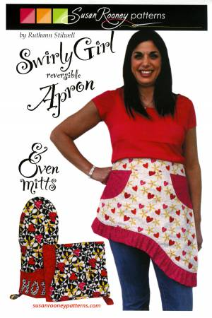 Swirly Girl Apron