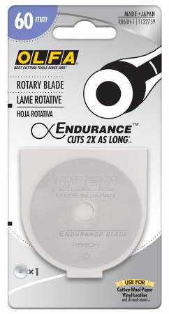 Endurance Rotary Replacement Blade (60mm) Olfa