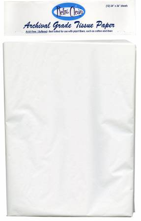 Archival Grade Buffered Tissue Paper