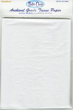 Archival Grade Unbuffered Tissue Paper