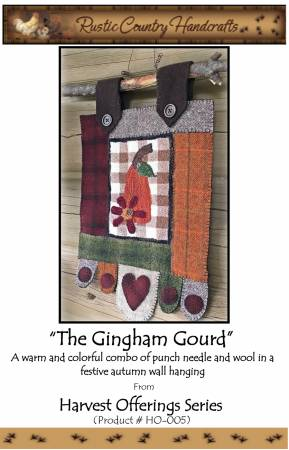 PT PN Rustic Country Handcrafts The Gingham Gourd