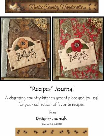 Recipes Journal