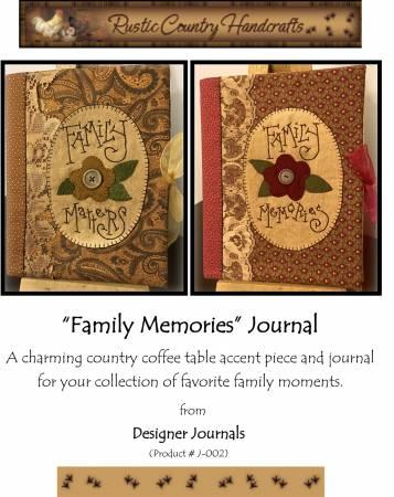 Family Memories Journal