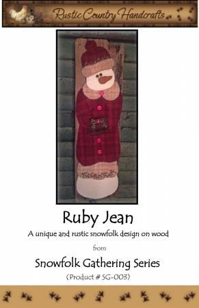 Ruby Jean Wool Applique Kit