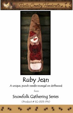 Ruby Jean Punch Needle
