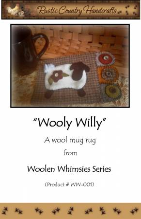 Wooly Willy Wool Applique