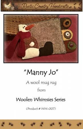 Manny Jo Wool Applique