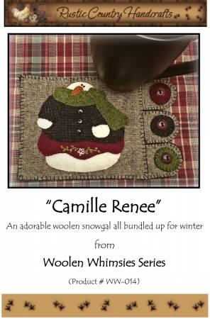 Camille Renee Wool Applique Kit