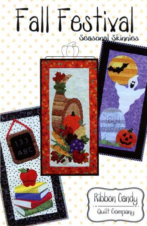 Seasonal Skinnies Fall Festival  Skinnies - Fusible Applique