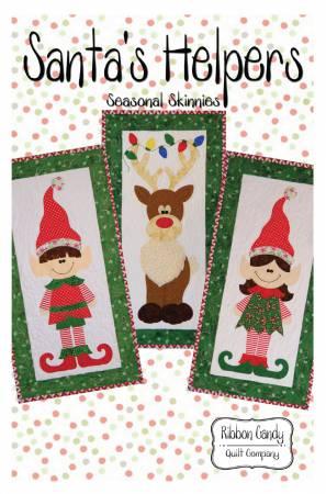 Seasonal Skinnies Santa Helpers - Fusible Applique