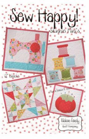 Sew Happy - Skinnie Mini's - Fusible Applique