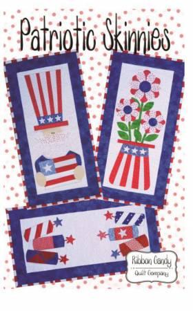 Patriotic Skinnies - Fusible Applique