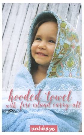 REVEL DESIGNS Hooded Towel with Fire Island Carry-All