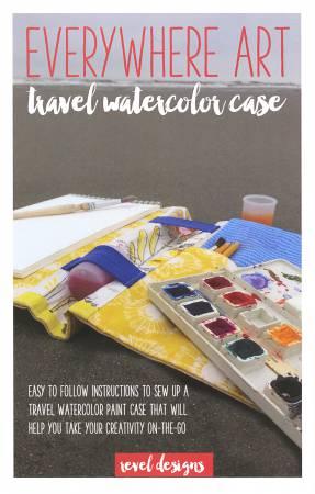 Everywhere Art Travel Watercolor Case Pattern