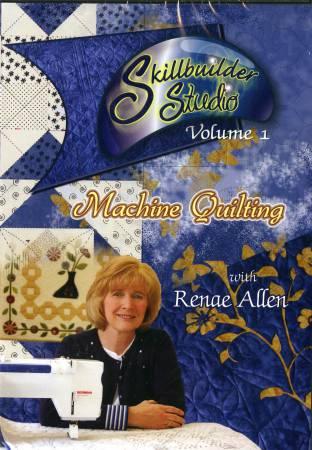 DVD - Skillbuilder Studio Volume 1 Machine Quilting
