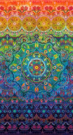 Flourish Woven Rainbow multi