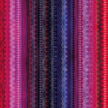 Garnet Frill Digitally Printed