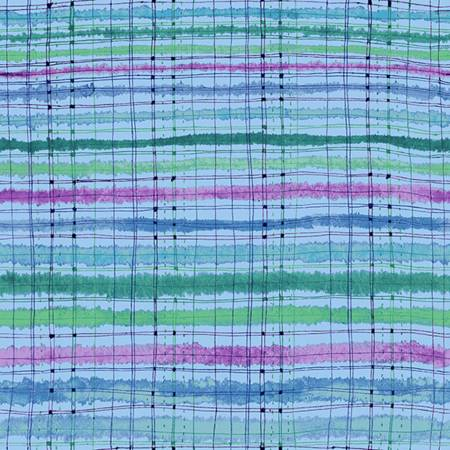 Bloom Bloom Butterfly - Picnic Blanket - Sea Breeze Fabric