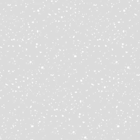RJR Studio Confetti - White On Gray RJ1410-WG7