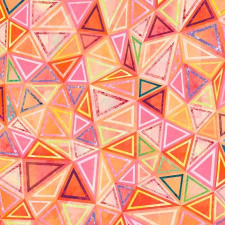 Geometry - Orange Triangle